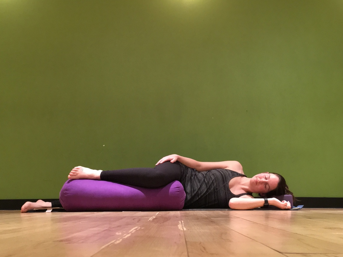 savasana in pregnancy