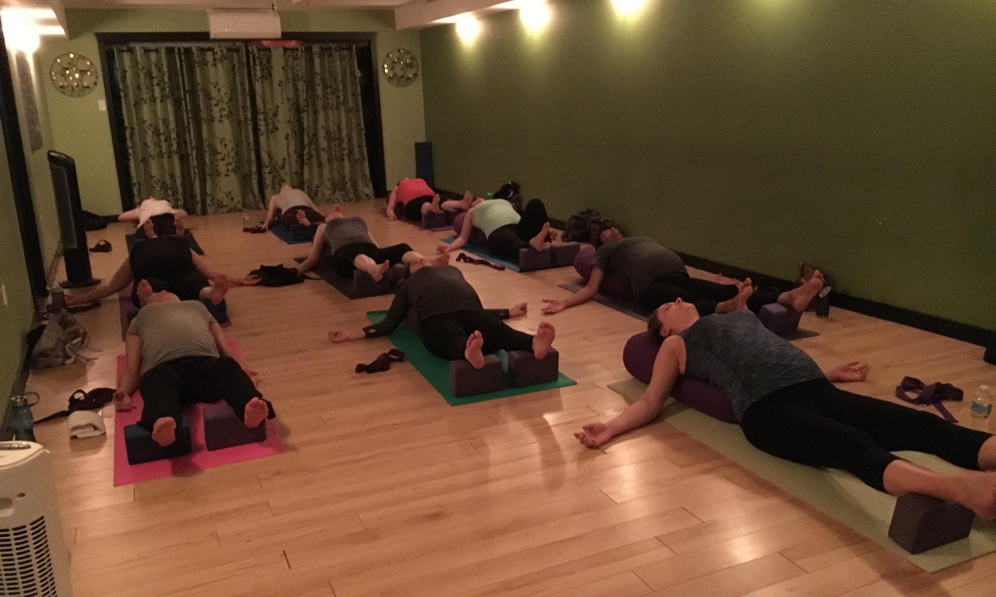 yoga practice during pregnancy